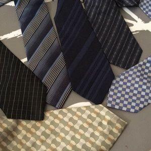 Geoffrey Beene Meek Paisley Tie